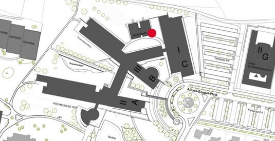 Lageplan Einstein1 Digitales Gründerzentrum Hof