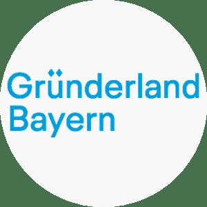 Logo von Gründerland Bayern
