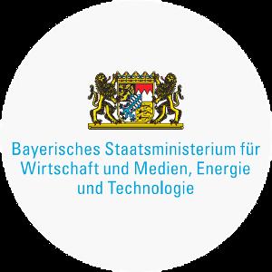 Logo des Bayerischen Staatsministeriums für Wirtschaft und Medien, Energie und Technologie