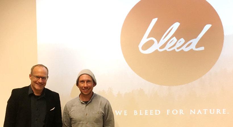 Prof. Dr. Michael Seidel und Michael Spitzbarth, Gründercafé 2017
