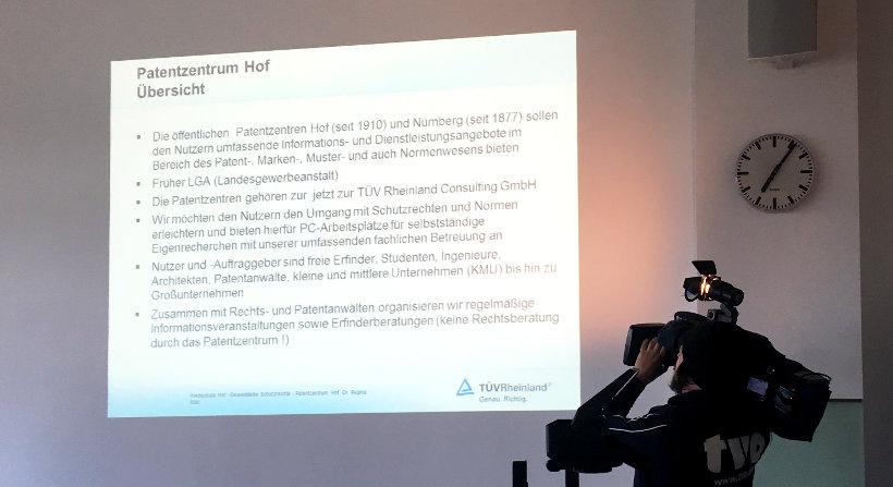 Großes Medieninteresse beim Vortrag von Dr. Regina Bühl - TVO
