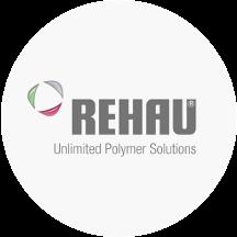 Logo der REHAU AG