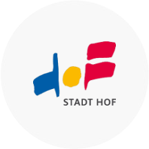 Logo der Stadt Hof