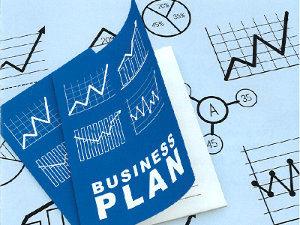 Schaubild eines Businessplans