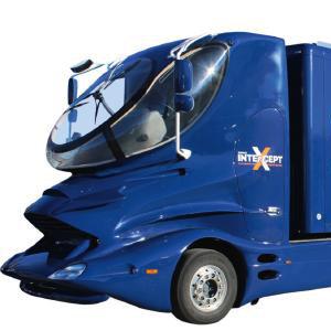 Vorderer Ausschnitt des Sophos Truck von ProComp