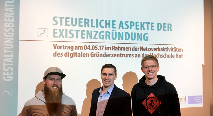 """Foto mit Jens Brett bei der Veranstaltung """"Steuerliche Aspekte der Existenzgründung"""""""