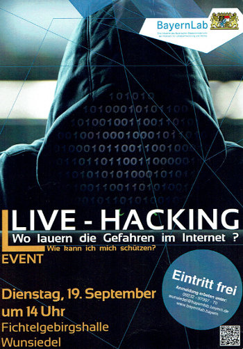 Live Hacking in Wunsiedel