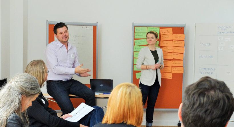 Markus Römer und Inci Ceylan im Workshop!