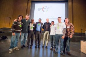 Gruppe bei Entrepreneurship Summit 2014