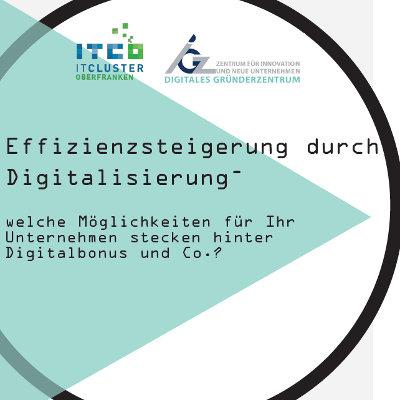 Effizienzsteigerung durch Digitalisierung