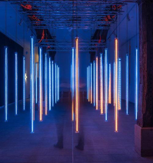LUMA Lichtinstallation von Frank Wunderatsch