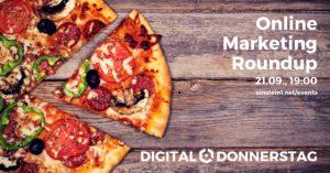 Online Marketing Roundup Banner Einstein1