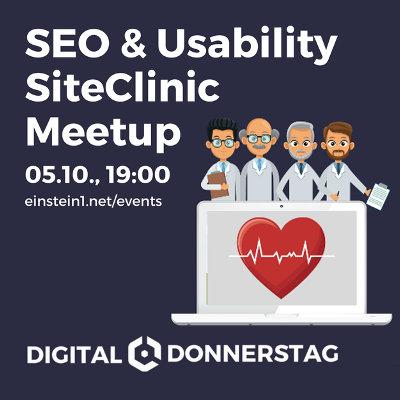 SEO & Usability SiteClinic Meetup