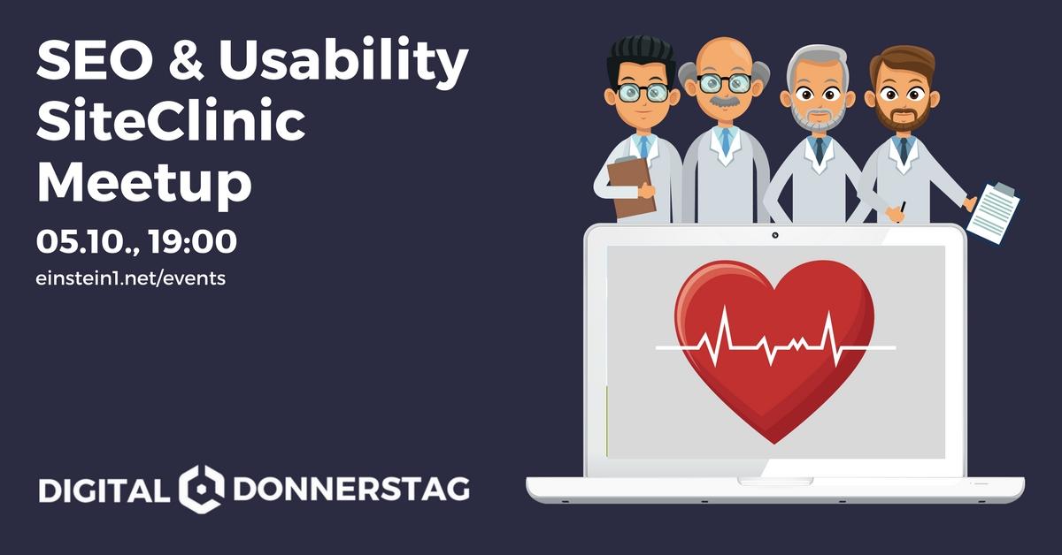 SEO & Usability SiteClinic Meetup am 05.10., 19 Uhr in Hof, Da Angelo