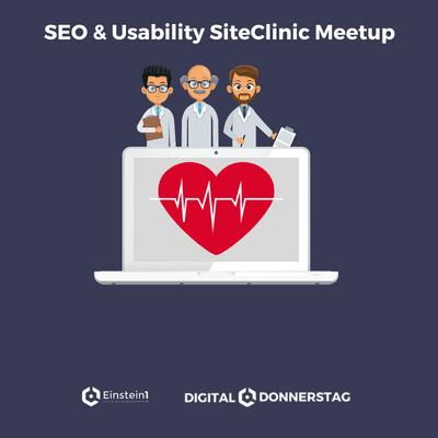 Teaser SEO & Usability SiteClinic Meetup Einstein1 Hof