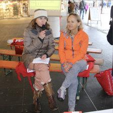 Anne-Christine Habbel im Gespräch mit Christine Hofmann