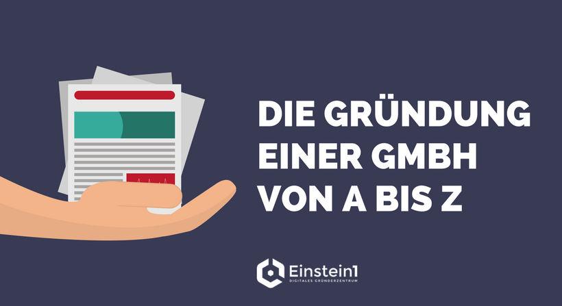 GmbH gründen Einstein1 Digitales Gründerzentrum Hof