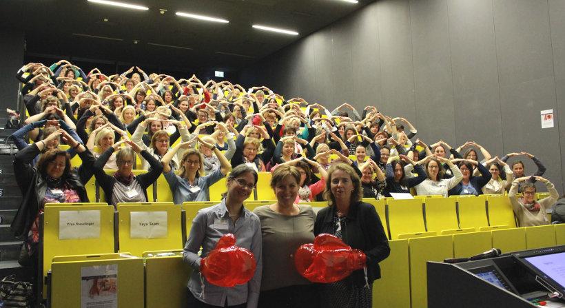 Schlagefertigkeitstraining 2017 für Frauen in Hochfranken