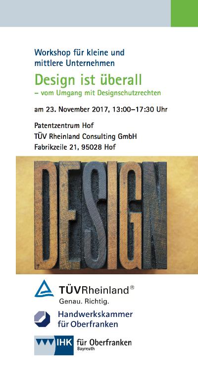 Design ist Überall - Workshop in Hof