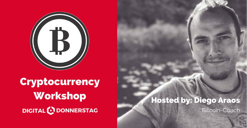 Cryptocurrency Workshop in Kirchenlamtitz - Diego Araos, Bitcoin-Coach