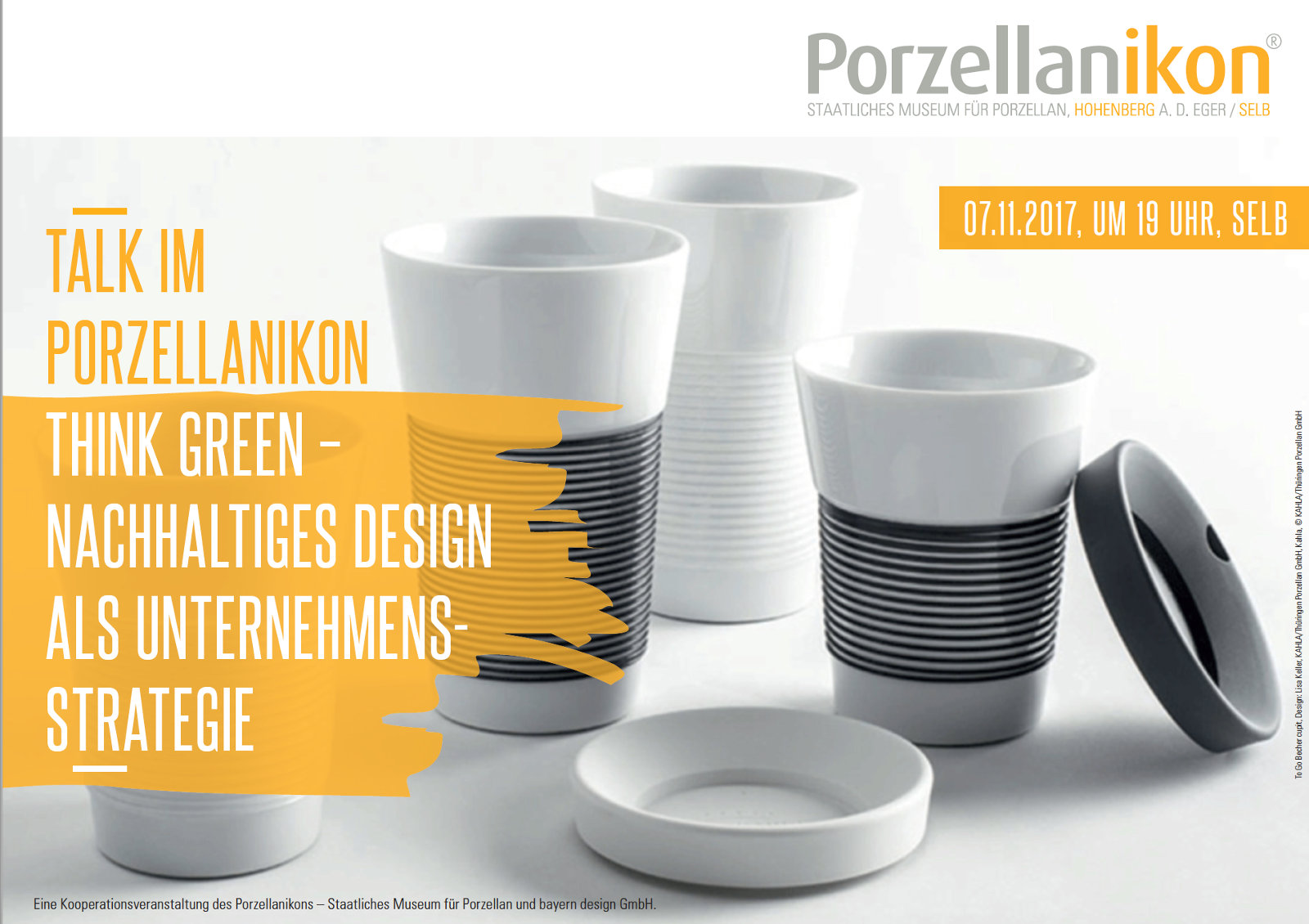 Talk im Porzellanikon - Think Green