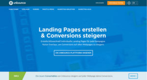 Unbounce Landing Page Value Proposition