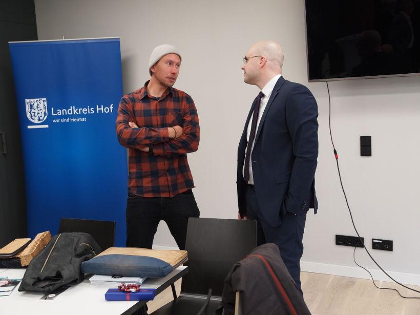 Gründer unter sich: Michael Spitzbarth und Alexander Neubert