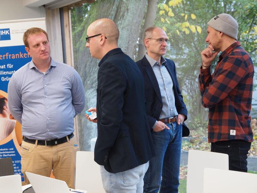 Gute Gespräche Gründerbrunch Networking