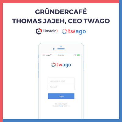 Einstein1 Gründercafe Thomas Jajeh CEO twago
