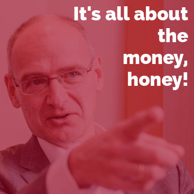 It's all about the money, honey! Verkaufstraining mit Hermann Hohenberger
