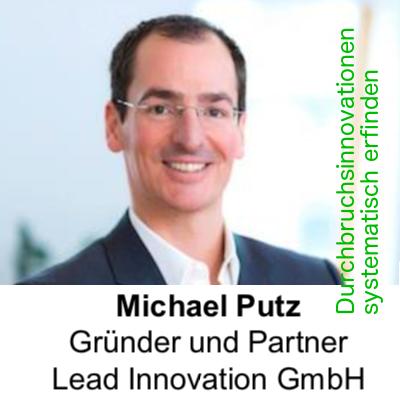 Michael Putz - Durchbruchsinnovationen systematisch erfinden
