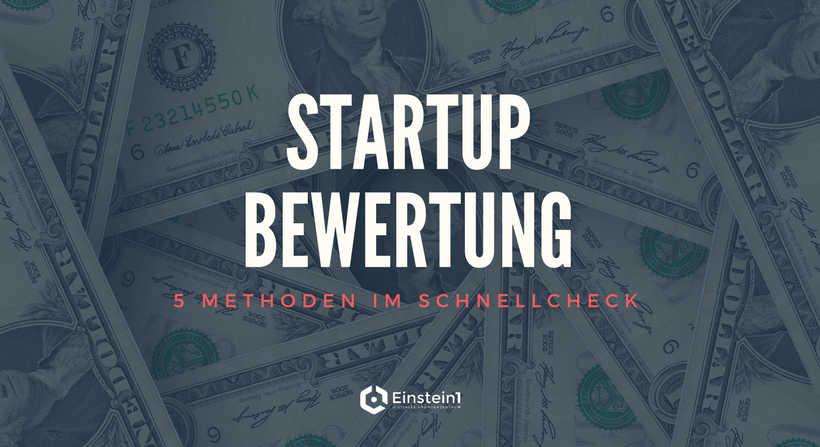 Startup-Bewertung