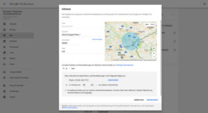 Google My Business Adresse ändern