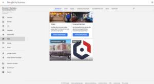 Google My Business Fotos und Videos