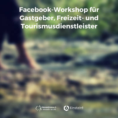 Teaser Facebook Workshop Frankenwald Tourismus Service Center