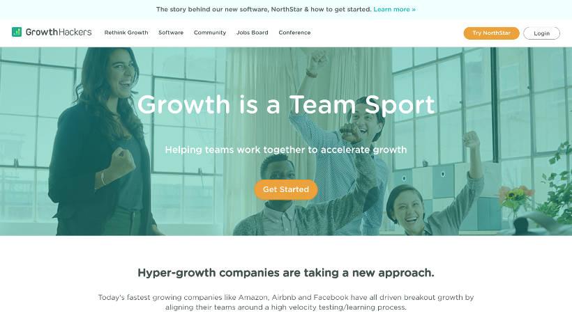 Startup Blogs - GrowthHackers.com Screenshot