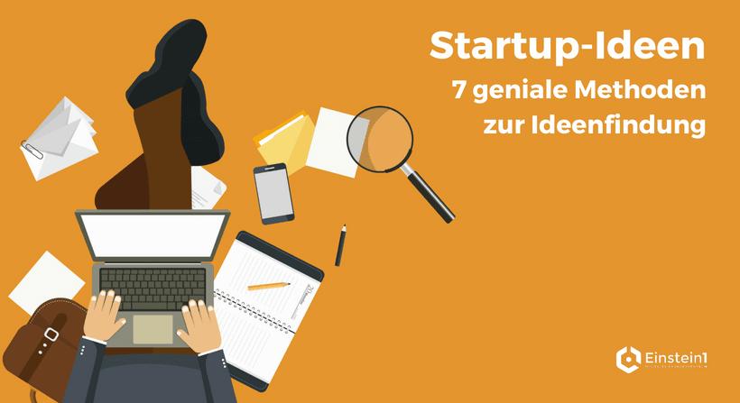 Startup-Ideen Einstein1