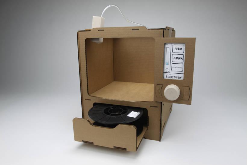 Cardboard 3D-Printer Prototype