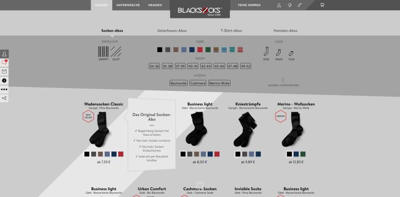 Blacksocks Screenshot