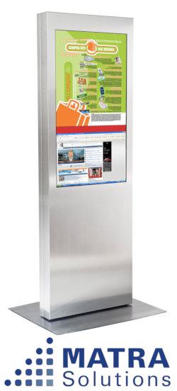 Matra Solutions - Werbetafel