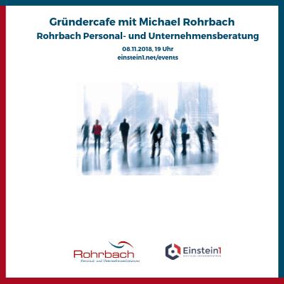 Teaser Gründercafe mit Michael Rohrbach