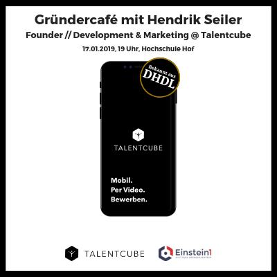 Teaser Gründercafé Hendrik Seiler Talentcube