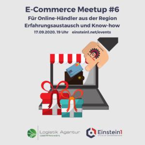 E-Commerce Meetup #6 Einstein1 + Logistikagentur Oberfranken