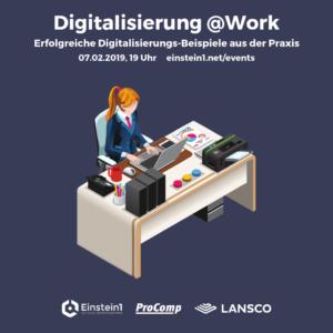Teaser Digitalisierung @Work