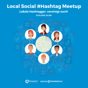 Teaser Local Social #Hashtag Meetup