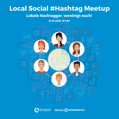 Teaser Local Social #Hashtag Meetup