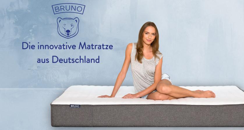 Bruno Bett Matratze