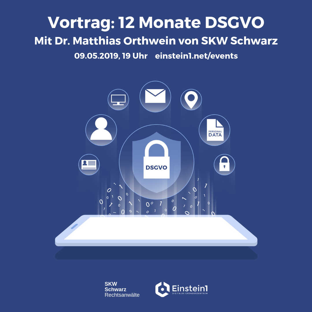 Teaser Vortrag 12 Monate DSGVO