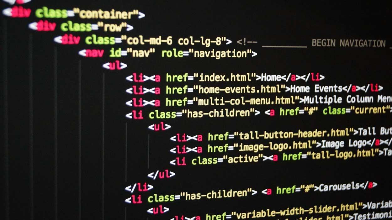 HTML Grundlagen Code