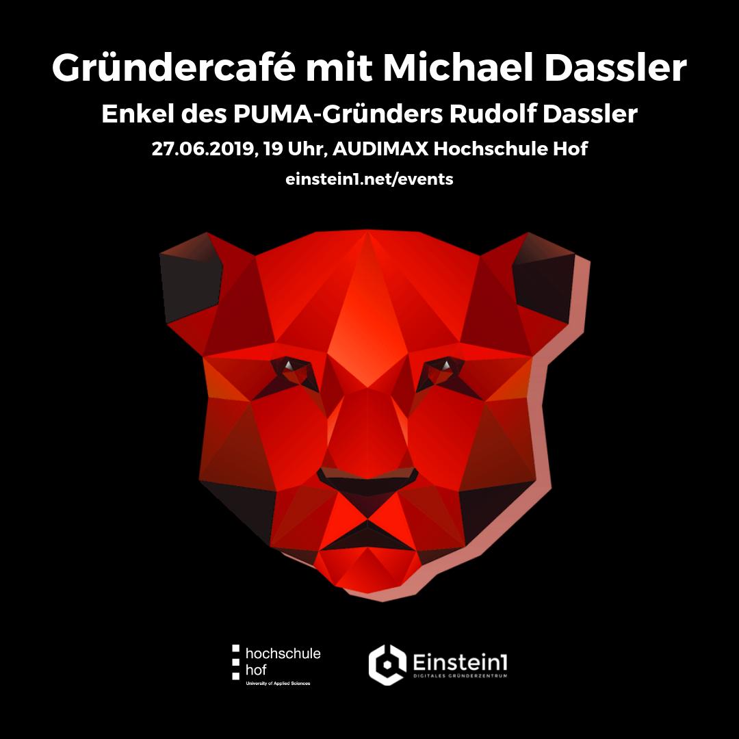 Gründercafé Michael Dassler PUMA